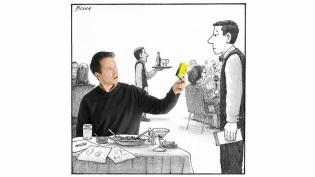 New Yorker cartoonist Harry Bliss